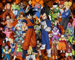 There are WAY WAY WAY to much people in this series, this are just the main ones :) (Dragon Ball Z)