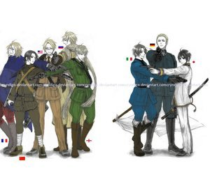 All of these guys and Death the Kid from Soul Eater!!!