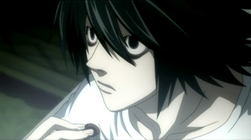 I am very obsessed with l from Death Note :3