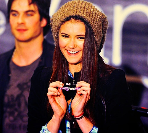 How about Nina's funny face? :)