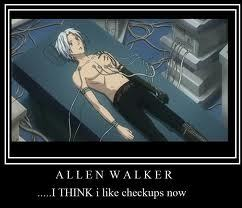 Allen Walker (D.Gray-Man) i am obsessed! i draw pictures i think about him all the time and i fleeping post everything on fanpop that has to do wth him! wahhhh.... why cant animê guys be real???!