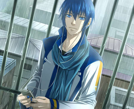 Kaito from Vocaloid! XD