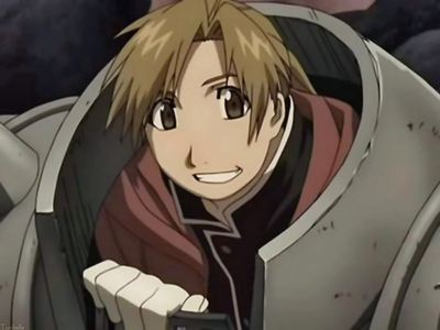 Alphonse Elric of course X3