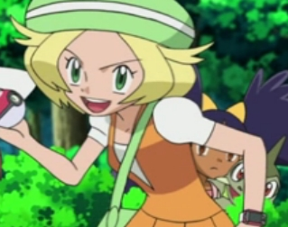 Bel-chan (her english name is Bianca by the way!) from Pokemon!,her name begins with a B!:)