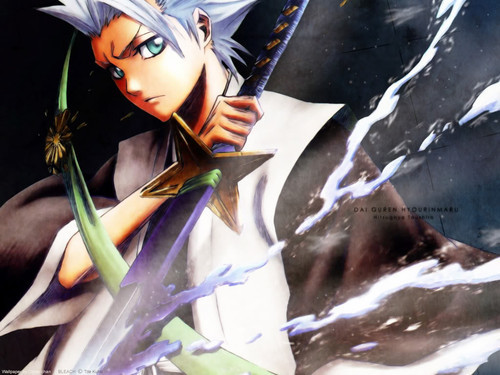Right.. now.... Currently? Wow. So many people, but... It would have to be Toshiro Hitsugaya. Cos' I'm leitura Bleach right now. I can't get hime out of my thoughts, he invades my mind =W= It's not like i'm saying i don't like it. >.~