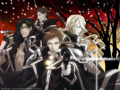The AX members from Trinity Blood are totally awesome! There are a few members missing though in this picture, sorry!