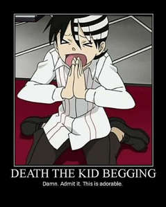 here's a cute picture of Death the Kid