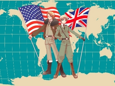 Britain and America!!!!! :D <3