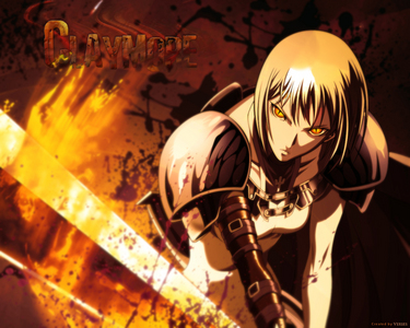Claymore!but the mangá its best...