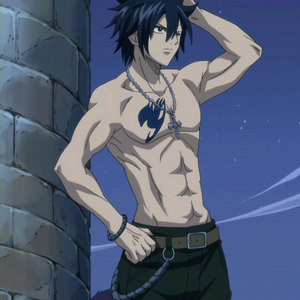 Gray Fullbuster from Fairy Tail!! The picture says everything...