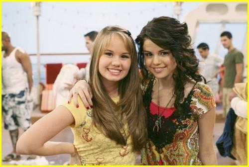 Debby Ryan And Selena Gomez