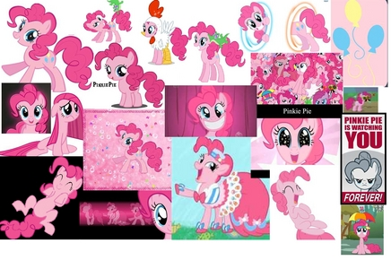 are you kidding pinkie pie is only the most awesome terrific amazing stupendis extrordinary fantastic fabulus kool fun zany silly weird (in a good way) perky pink pony in equestria!