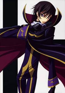 mine is Lelouch Lamperouge ! ^^ though he is thought to be a bad guy i definitely wont hate him ^^