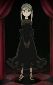 Maka's black blood dress. :D