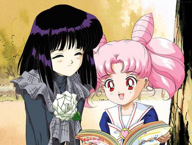 Chibiusa and Hotaru from Sailor Moon