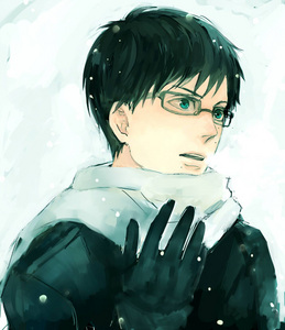 awesome pic btw, I've always wanted to order the J-list glasses Here's Yukio~