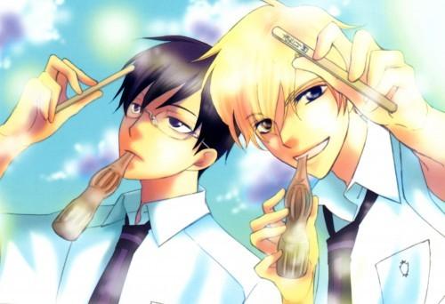 Tamaki and Kyoya <3