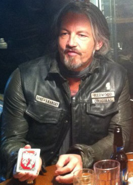 Your actions are about as likely to be considered decent trolling as this playing card is likely to eat Chibs' hand...