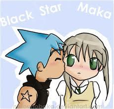 I luv Maka and Black Star, they are adorable ^w^