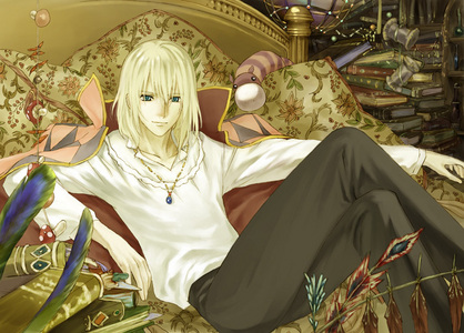 Howl! I would probably ask him to marry me too XD