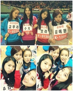 Suzy with G8 memebers ^^