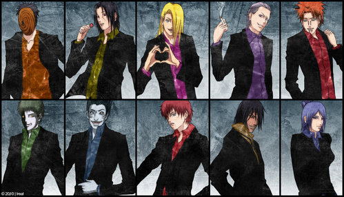 ...........The Akatsuki... ...........But I ain't regreting it, that's for sure! xD