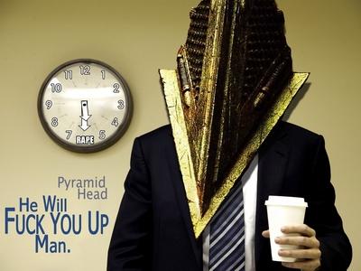 Damn..... Pyramid Head. XD