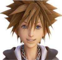 Sora! *fangirl squeal* Kingdom Hearts as a manga heehee