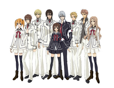 Actually i had a crush on a lot of Vampire Knight boys all at the same time.They r all so Hot