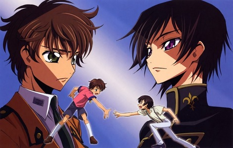 Lelouch and Suzaku!!! I will always see them as BFF, even though I know what will happen in the end T_T