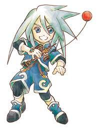 Genis! While playing through this game, my brother always hogged llyod, so i always played as genis :D