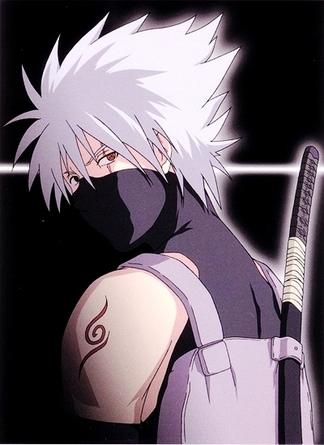 I would TOTALLY choose Kakashi Hatake Hatake for two main reasons. 1) He's a freakin' awesome ninja. 2) *see picture and nod your head in agreement*