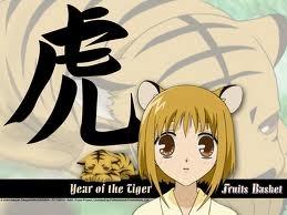Tiger ! :) like kisa sohma from fruits basket :)