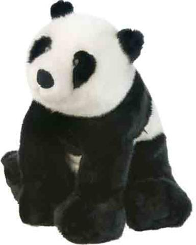 I think that almost every stuffed panda looks pretty real :)
