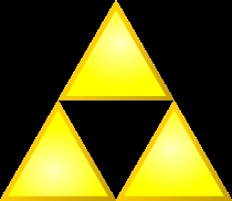 The Triforce from the LoZ series.