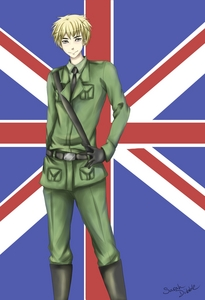 Right now Britain from hetalia - axis powers amor that show and him!!!!!!!!! <3