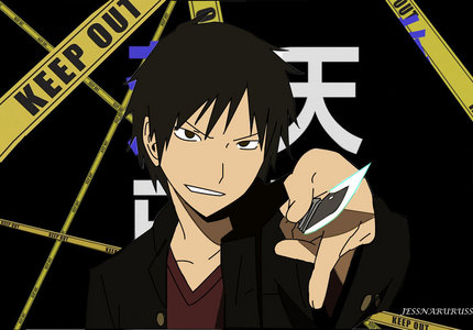 Currently, I'm obsessed with Izaya from Durarara ^.^