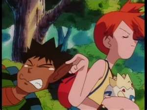 brock is my all time fave but this is a big LOL, poor brock.