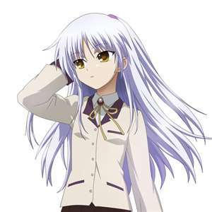 idk if this counts because angel's real name is kanade...but i think she's pretty^^