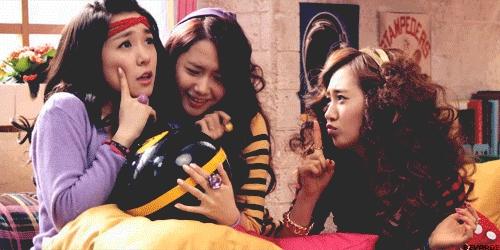 1. Yuri 2. Tiffany 3. Yoona 4. Sooyoung 5. Hyoyeon 6. Taeyeon 7. Jessica 8. Sunny 9. Seohyun(sorry)