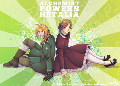 FMA: Brotherhood, though hetalia - axis powers is close behind it.