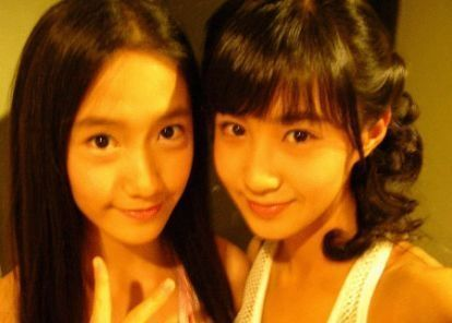 I think yuri's best friends in snsd is Yoona..^^