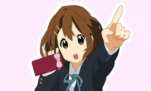 Yui Hirasawa from K-On!She looks a lot like me when I was a kid.That's why I amor her:-)