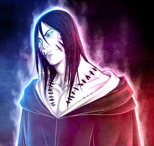 "Kakuzu from [i]""Naruto""[/i]."