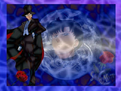 My very first crush was Tuxedo Mask from Sailor Moon. to this araw I can't resist a man in a mask and/or cape ^.^