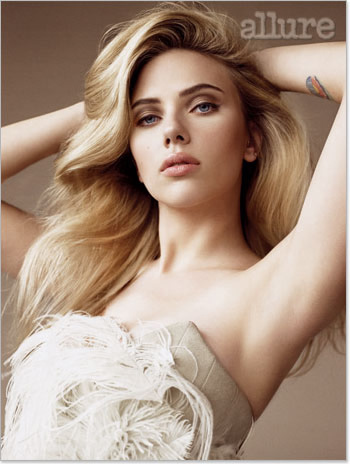 MOST beautiful? Well, I'd have to think pretty hard. But someone who I always thought was very beautiful is Scarlett Johansson.