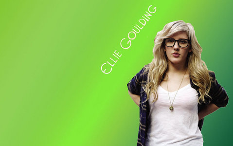 Ellie Goulding. Beautiful woman, beautiful voice. <3