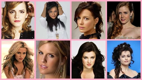 Difficult - Emma Watson, Naya Rivera, Kate Beckinsale, Amy Adams, Reese Witherspoon, Maggie Grace, Lucy Griffiths and Helena Bonham Carter. Sorry I just can't choose one!