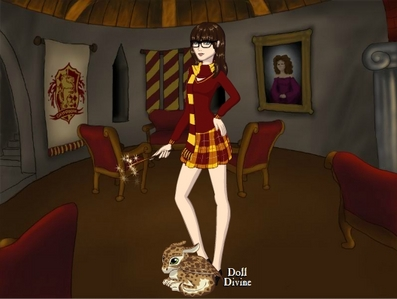 Hufflepuff DDX with gryffindor colors? O_o xD Weird.