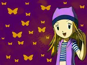 zoe orimoto from digimon frontier